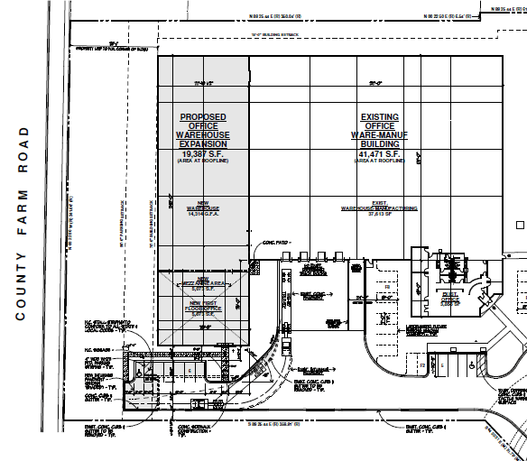 Mid States Graphics Building Blueprint
