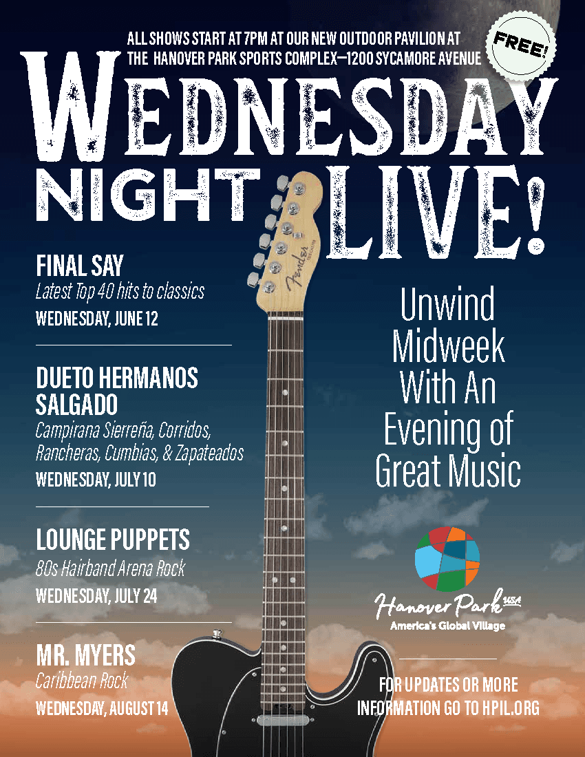 Wednesday Night Live Flyer