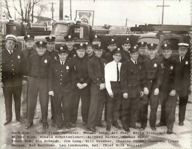 1957 Volunteer Firefighters