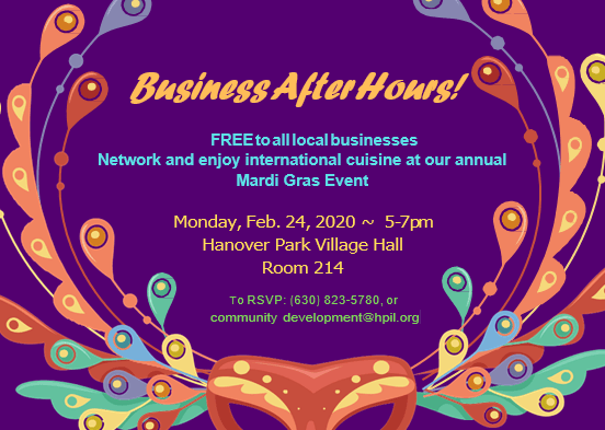 Business After Hours Flyer