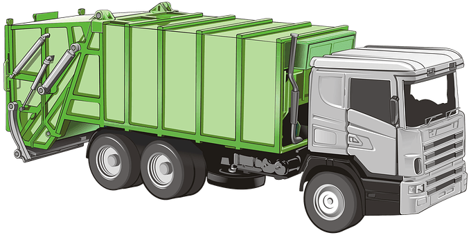 garbage truck picture