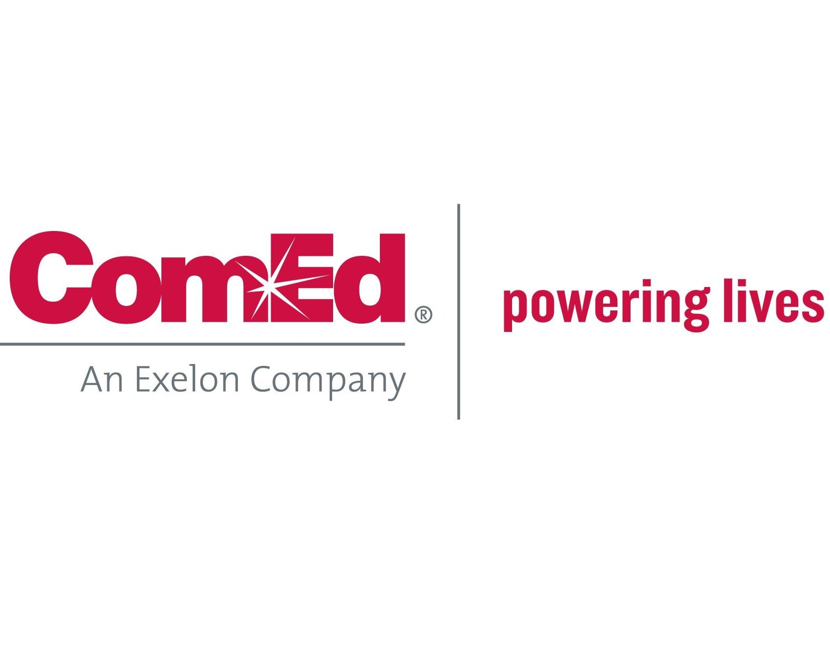 ComEd Powering Lives Logo Hi Res