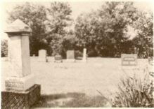 new cemetary next to smyna church