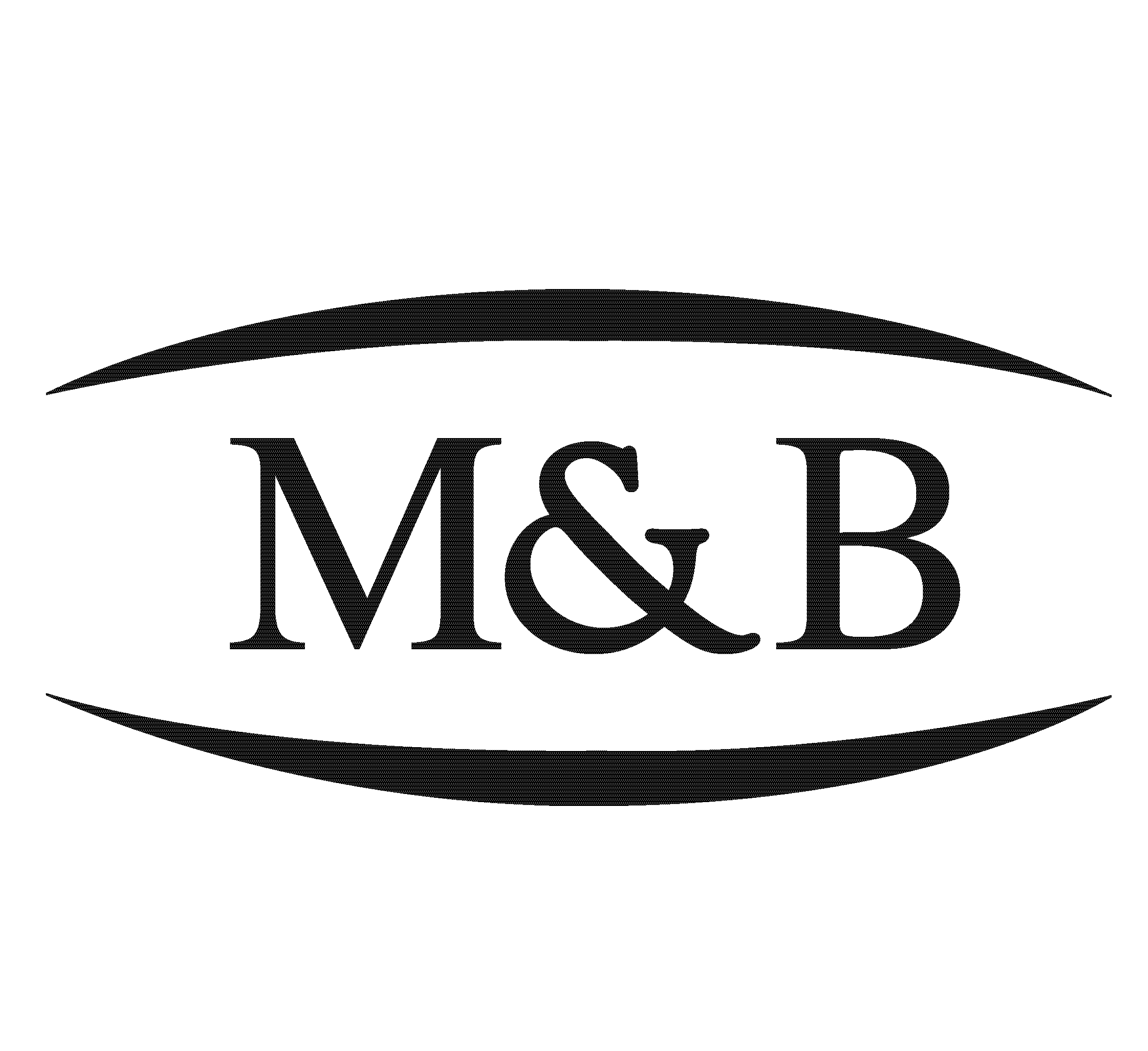 Black and White Logo with the letters B and M for Marquardt and Belmonte
